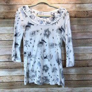 Anthropology Postmark Creature Comforts Size XS